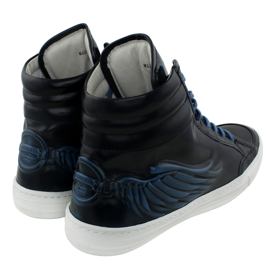 Angel Wings Signature Leather High Tops