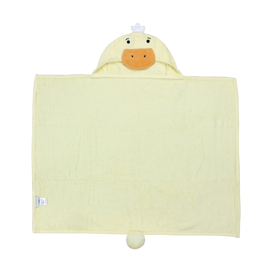 Duckie Hooded Baby Bath Wrap