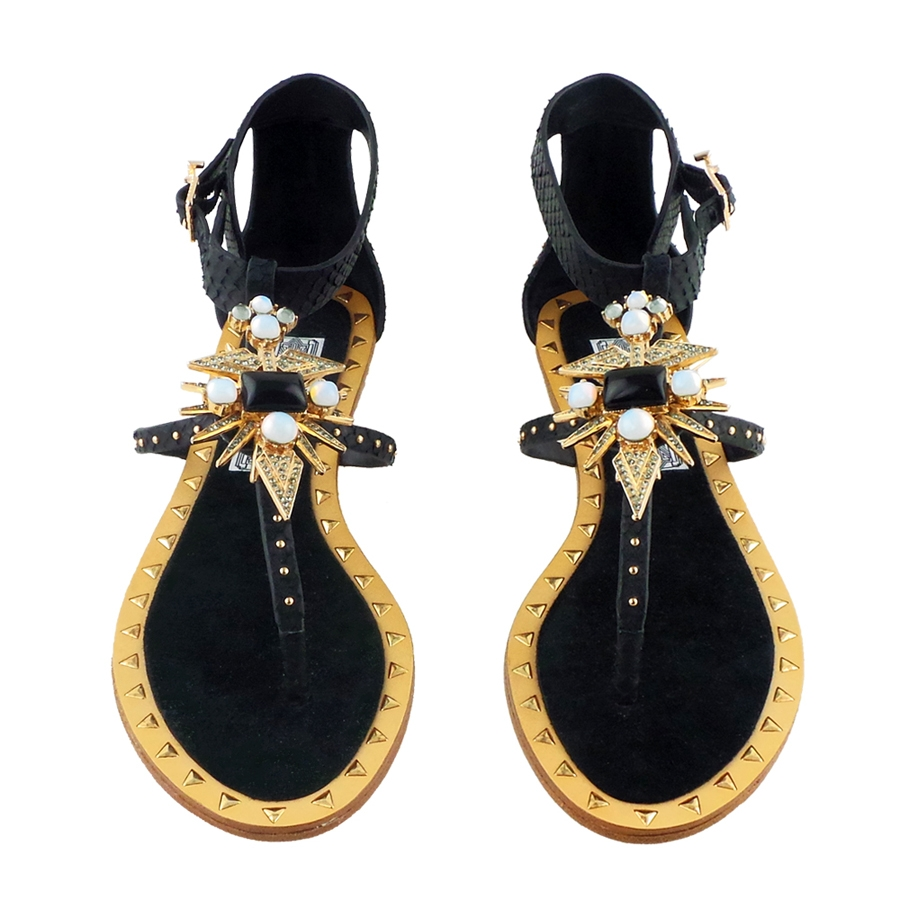 Babel Embellished Sandals