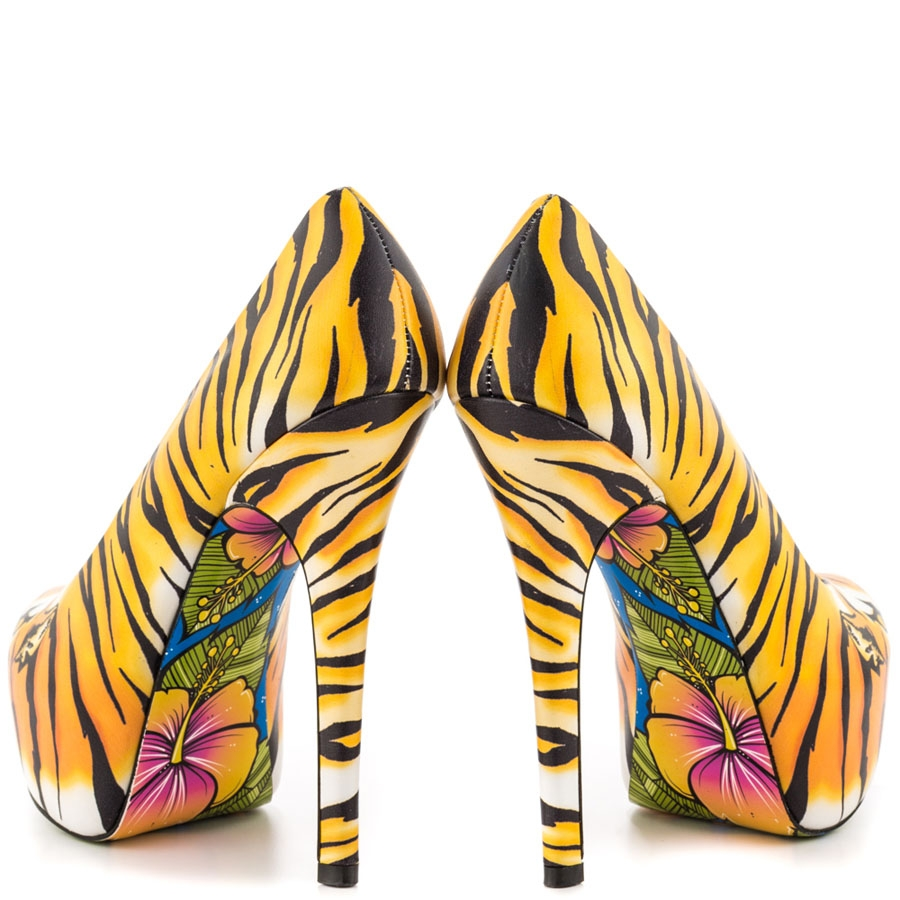 Tigres Fierce Leather Platforms