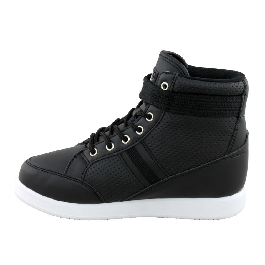 Prosperity Lace & Strap High Tops