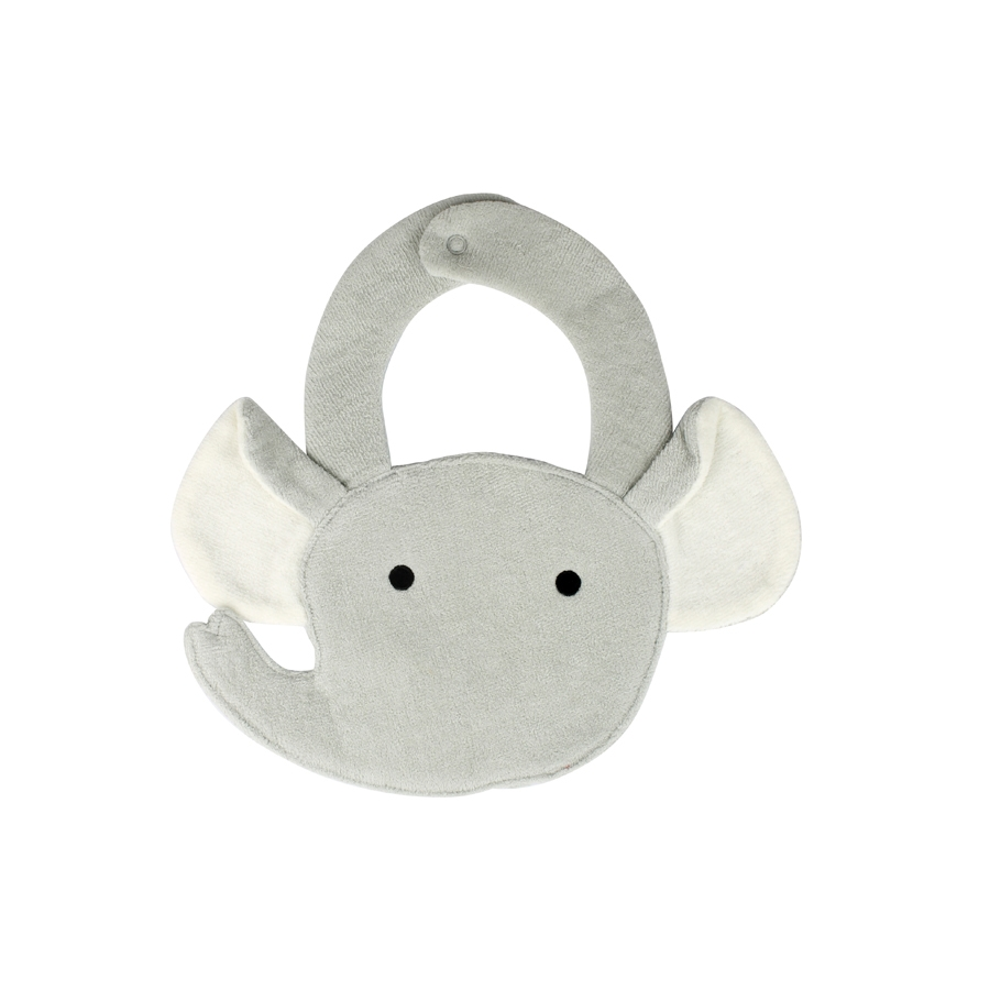 Elephant Buddy Bib