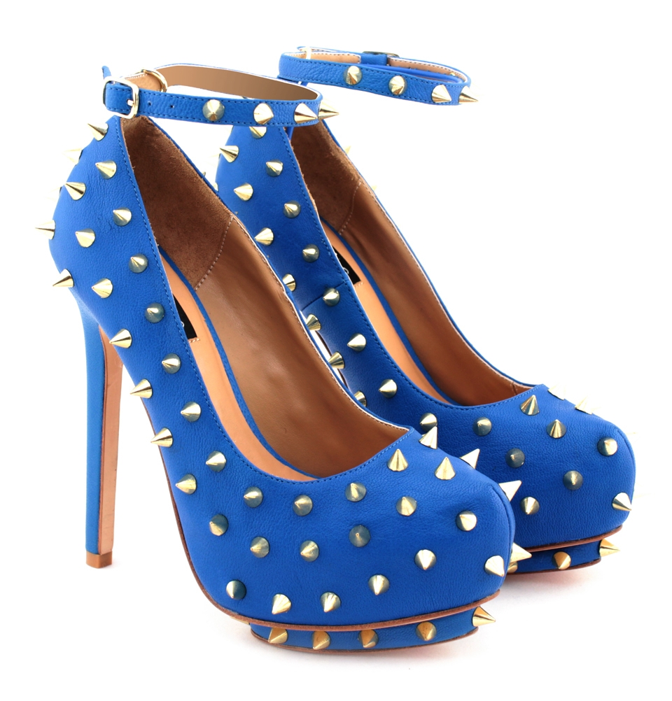 Setorii Spiked Embellished Platforms