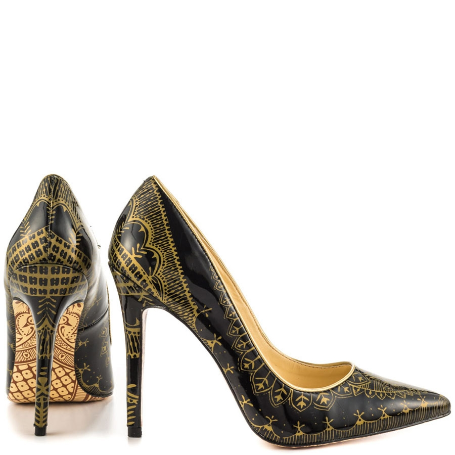 Hena Patent Leather Stilettos